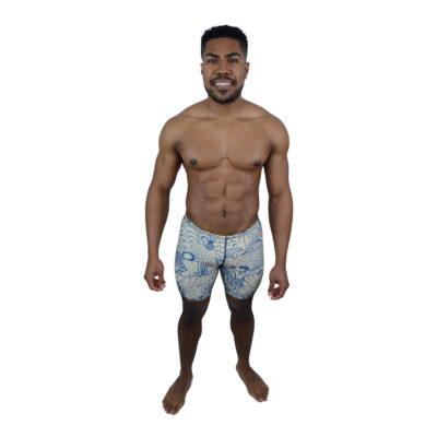 Hawaiian Mens Swimming Jammer