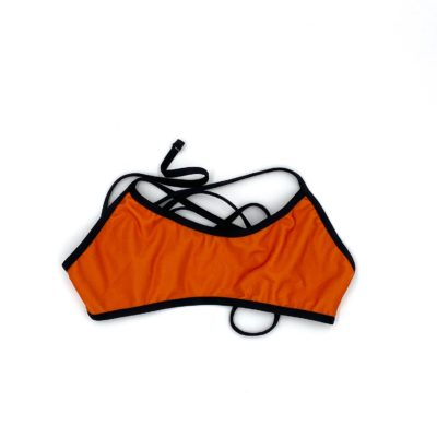 Orange bikini top | Innate Active Ethical and Sustainable Bikini