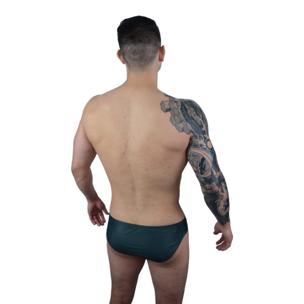 Black Mens Swimming Brief | Innate Active Sustainable & Ethical Briefs