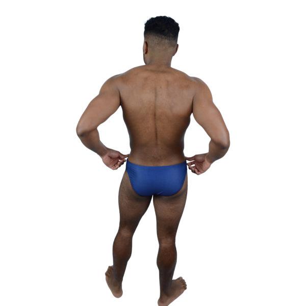 Dark Blue Mens Swimming Brief   Innate Active Sustainable & Ethical Swimwear