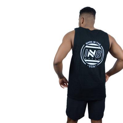 IN8 Emblem Black Tank Top | IN8 Active