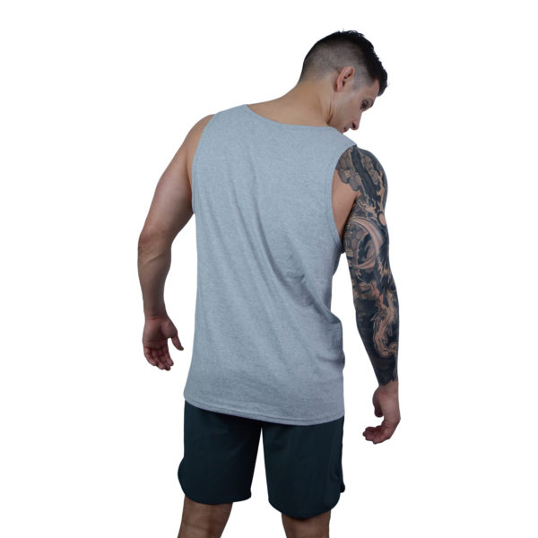 IN8 Grey Casual Tank Top   IN8 Active