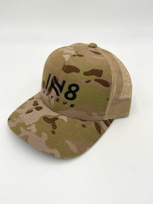 IN8 Desert Camo Snapback Cap | IN8 Active