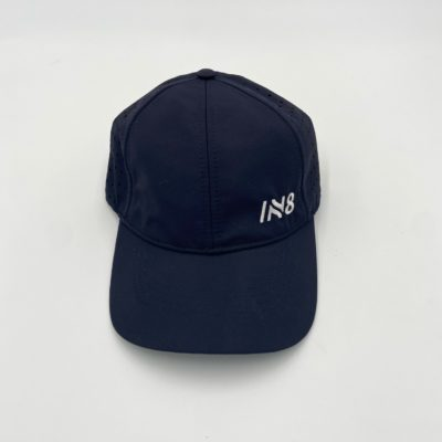 Lite Series Navy Perforated Running Cap | IN8 Active