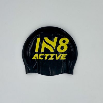 IN8 Black and Yellow Silicone Swim Cap | IN8 Active