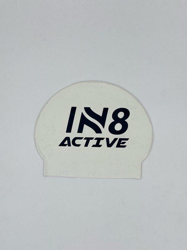 IN8 White Latex Swim Cap | IN8 Active