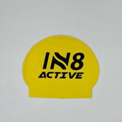 IN8 Yellow Latex Swim Cap | IN8 Active