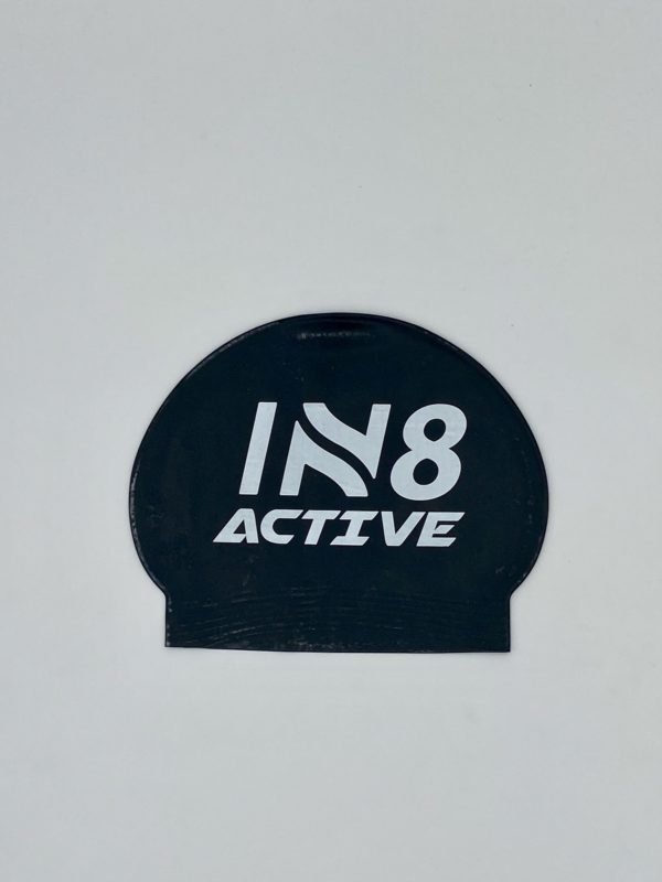 IN8 Black Latex Swim Cap | IN8 Active